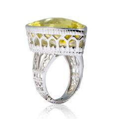 Chateau柠檬晶戒指 货号109622