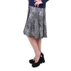 J.K褶皱印花半身裙 货号112150