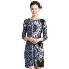 TianaB纽约爆款图纹女裙