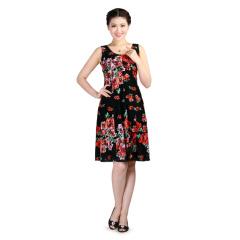 TianaB纽约蕾丝花朵女裙 货号113298