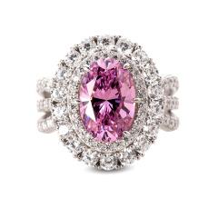 HB妖娆玫瑰粉戒指