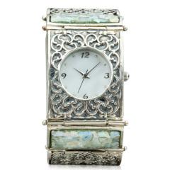 Zuman玻璃手镯款手表 货号115226