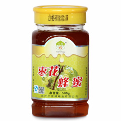 天依蜂枣花蜂蜜500g  货号118175