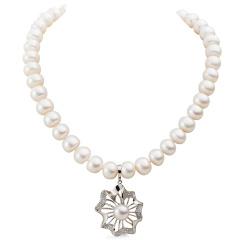 圣珀尔经典款珍珠挂件套组 货号120073