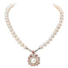 水年华凤凰展翅珍珠项链超值组 货号120586