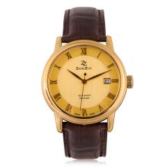 臻时力瑞士原装进口真金男腕表 货号120901