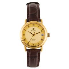 臻时力瑞士原装进口真金女腕表 货号120902