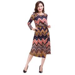 CELLE西琳波西米亚风连衣裙  货号121123