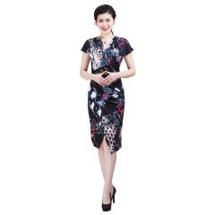 CELLE西琳优雅连衣裙  货号122428