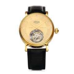ARSA黄金钻石陀飞轮机械腕表