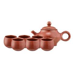 非遗传承木鱼石珍藏茶具