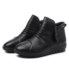 JC头层牛皮女靴