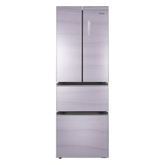 奥马327升双变频法式多门冰箱