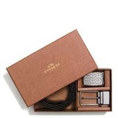 蔻驰(COACH)新款男士腰带礼盒装 65186