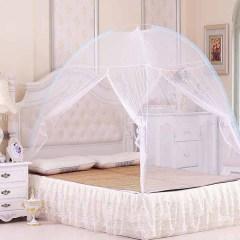 免安装蒙古包蚊帐1.8床1.2床家用宿舍学生折叠拉链简易蚊帐