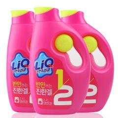 韩国原装进口爱敬全新升级版LIQ洗衣液三桶装