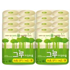 韩国原装进口木之惠Greu厨房用纸8包装
