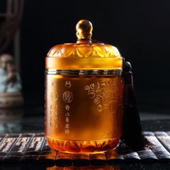 瓯叶黄茶 东方智慧琉璃 温州黄汤 明前特级平阳黄汤茶叶 礼盒100g