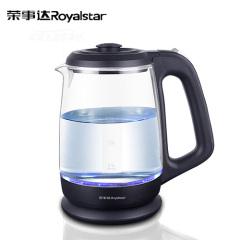 荣事达/Royalstar 高硼硅材质  快速烧水 1.5升容量 玻璃水壶GL1500S