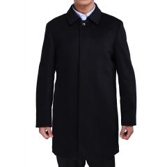 方仕商务休闲男士羊绒大衣  货号124591