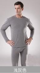 豐暖保暖内衣加厚加绒套装男 灰色