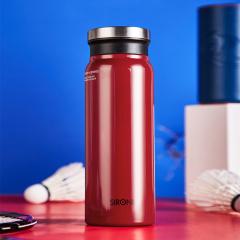 SIRONI-保温杯 男女运动水杯 550ML大容量 304不锈钢 便携情侣杯子