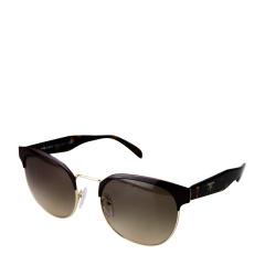【17年新品】PRADA/普拉达 中性棕色镜框茶色镜片玳瑁色镜架太阳镜 61TS DHO3D0 54