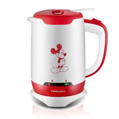 迪士尼(Disney)电水壶RSDKT-12G  红色  不锈钢内胆