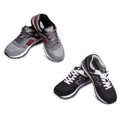 纽巴伦男女款经典气垫慢跑鞋组
