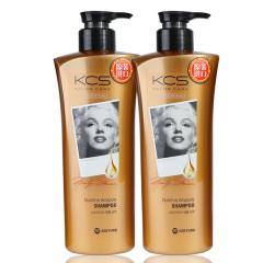 韩国原装进口爱敬可希丝沙龙护理洗发香波滋养型2瓶装