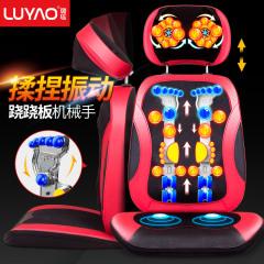 颈椎按摩器仪多功能全身电动振动揉捏坐垫家用肩颈部腰部背部后背LY-163A