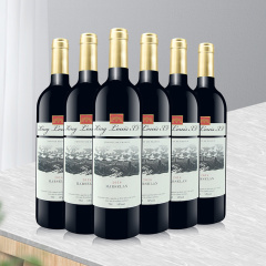 法国原瓶进口红酒14度红葡萄酒国王路易十五干红葡萄酒750ml