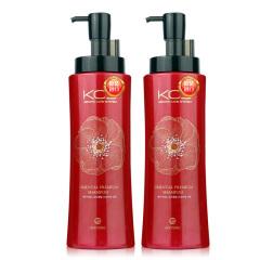韩国原装进口爱敬可希丝顺滑洗发香波2瓶装
