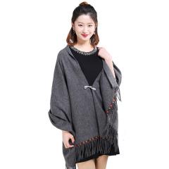 上海故事时尚羊毛披肩组