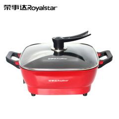 荣事达(Royalstar)韩式多功能电热锅HG1601  6L容量 5档温控调节
