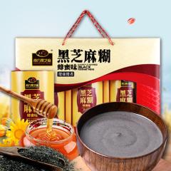 南方黑芝麻 黑芝麻糊礼盒装 蜂蜜味/无糖味可选 720g/盒