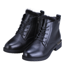 法国梦特娇水貂毛时尚女靴  货号124323