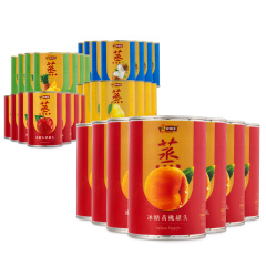 林家铺子蒸养生水果罐头劲爆组 货号122398