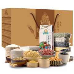 美农美季 东北有机杂粮礼盒10种五谷杂粮3.87kg