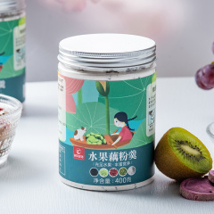 【速食代餐】纯藕粉 水果藕粉羹 懒人速食蔓越莓干 水果粉代餐 营养早餐粥