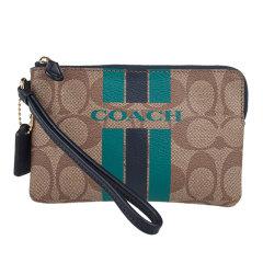 蔻驰(COACH)女士PVC零钱包手拿包66052