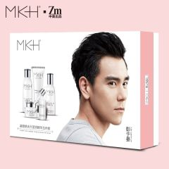MKH护肤五件套(富勒烯洁面乳、富勒烯精华水、富勒烯精华乳、富勒烯精华霜、富勒烯精华液)