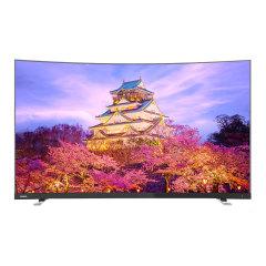 东芝55英寸4K曲面语音智能电视
