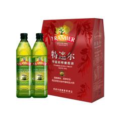 西班牙原瓶原装进口特迷尔特级初榨橄榄油食用油小瓶1500ML礼盒装