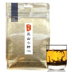 瓯叶红茶 武夷山桐木关正山小种 小种红茶 150克/袋