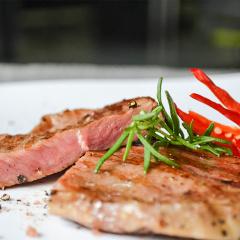 【新鲜食材】鲜元道澳洲进口原肉整切浸腌牛排 牛排礼盒1000g