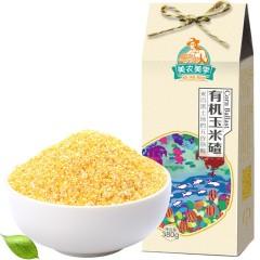 美农美季 东北五谷杂粮 有机玉米碴380g