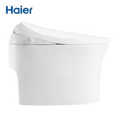 海尔(Haier)无水压限制智能马桶一体机加热冲水助便节水虹吸坐便器全自动马桶