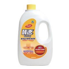 台湾多益得厨房油污分解酵素洗洁精2L
