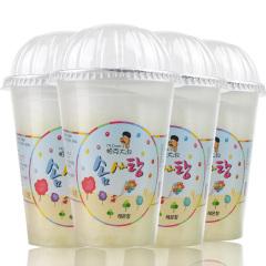韩国进口帕克大叔柠檬味棉花糖4盒装